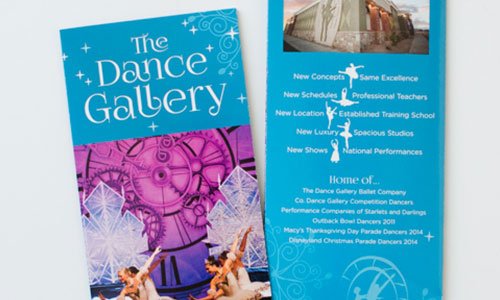 Dance Gallery Brochure