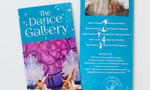 Dance Gallery Brochure