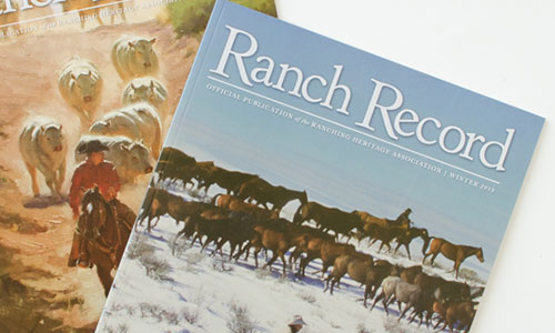Ranch Recored Magazine