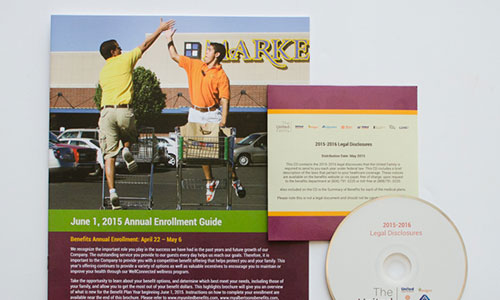 Lubbock Print Design - United Enrollment Guide - Thumbnail