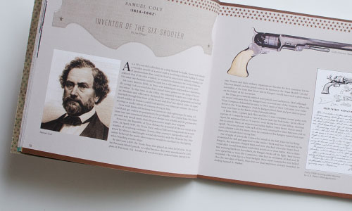 Lubbock Print Design - NRHC Wester Visionaries - Inside Spread