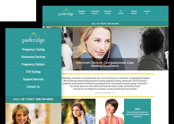 Parkridge - Website Design