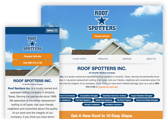 Roofspotters - Website Design