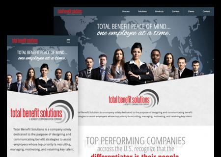 Total Business Solutions - Website Design