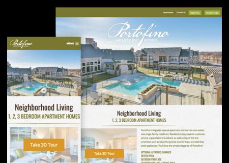 Portofino Website Design