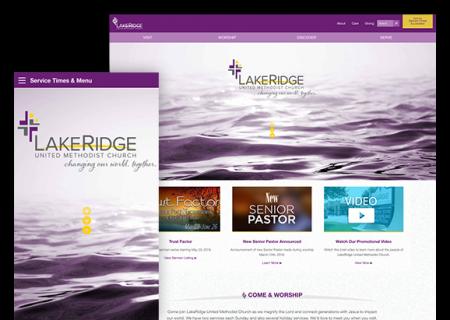 Lakeridge United Methodist Church - Website Design