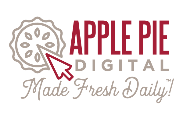 Apple Pie Digital Logo - Lubbock Logo Design