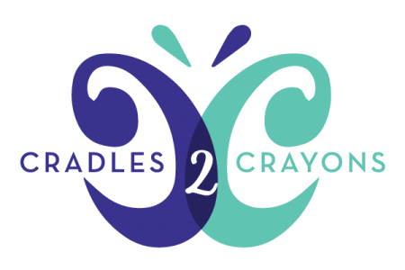 Cradles 2 Crayons Logo - Lubbock Logo Design
