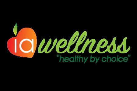 IA Wellness Logo - Lubbock Logo Design