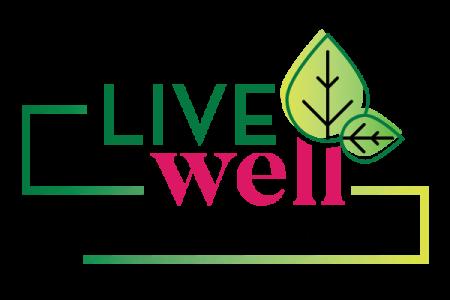 Live Well Logo - Lubbock Logo Design