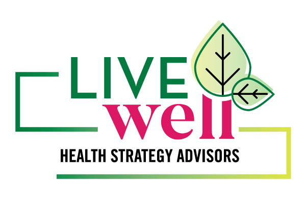 Live Well Logo - Lubbock Logo Design