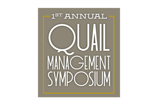 Quail Management Symposium Logo - Lubbock Logo Design