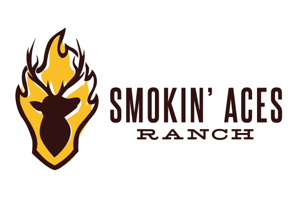 Smokin Ace Ranch Logo - Lubbock Logo Design