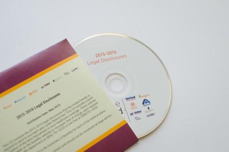 Lubbock Print Design - United Enrollment Guide - CD cover