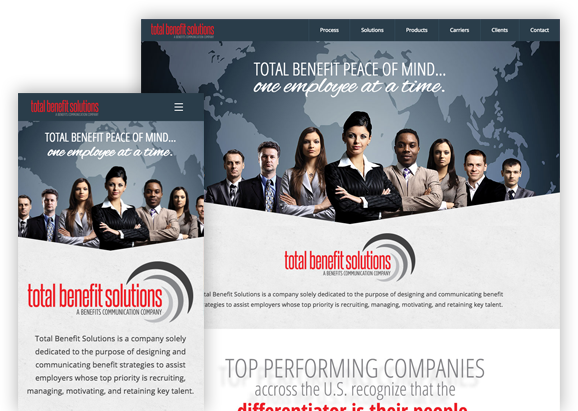 Total Business Solutions - Website Design