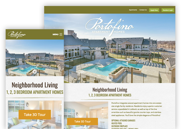Portofino Website Design