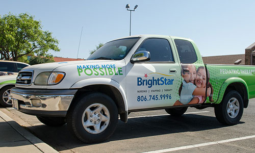 Brightstar - Vehicle Wrap